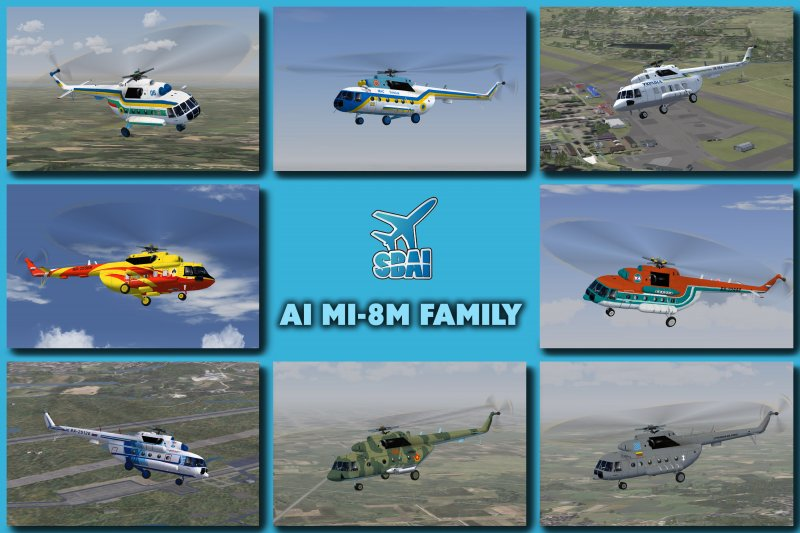 AI Mi-8MT helicopter (export name Mi-17) Release